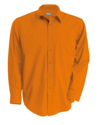 camasa-barbati-kariban-cu-maneca-lunga-jofrey-portocaliu